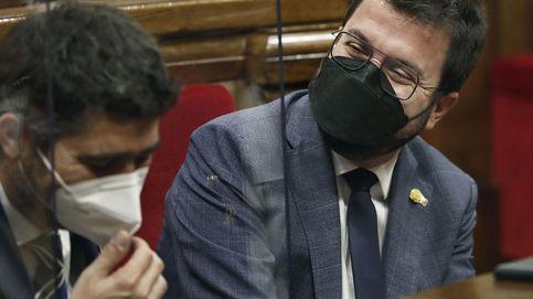 El peligro del Govern técnico de Aragonès ante el 'procés'