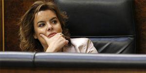 Foto: Sáenz de Santamaría y ocho ministros también cobran alojamiento y manutención en Madrid