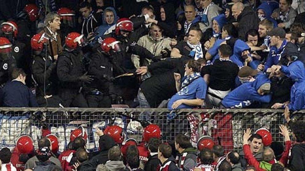 Fallece el joven herido en los incidentes que tuvieron lugar en Bilbao tras el Athletic-Schalke
