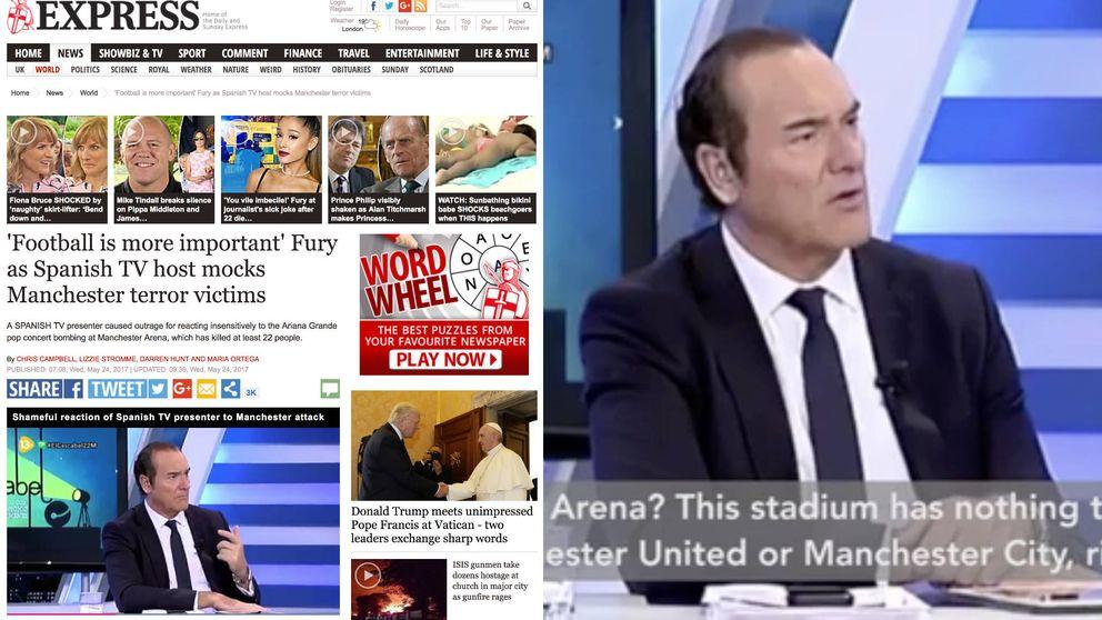 La polémica de Antonio Jiménez llega a la prensa inglesa