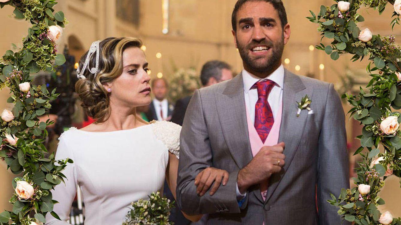 La boda ficticia de María León que ha grabado su novio en la vida real