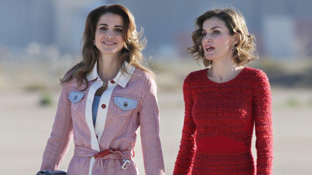 Primer round entre Letizia y Rania: victoria para la esposa de Felipe VI