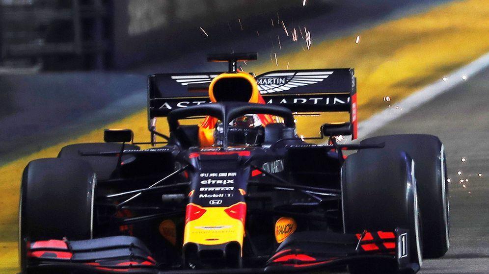 Foto: Max Verstappen durante los entrenamientos libres en Singapur. (Reuters)