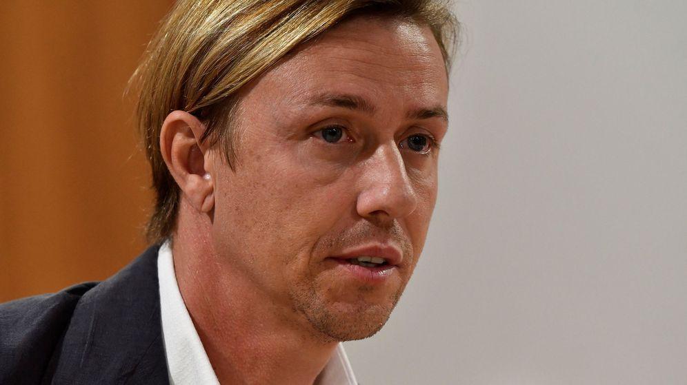 Foto: José María Gutiérrez, entrenador del Almería. (Efe)