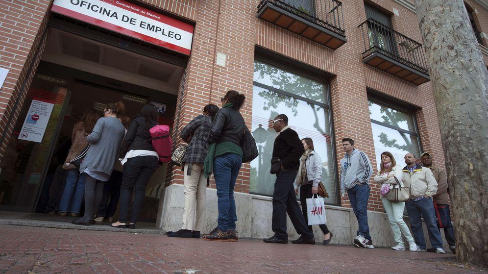 Foto: Una oficina del paro en Madrid. (EFE)