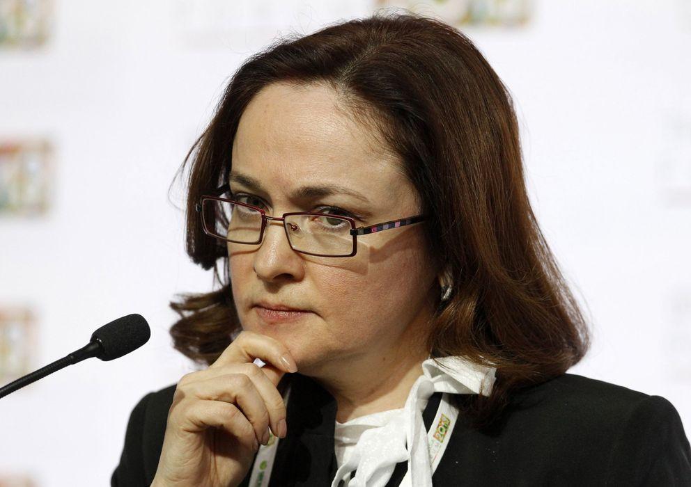 Foto: La presidenta del Banco de Rusia, Elvira Nabiullina