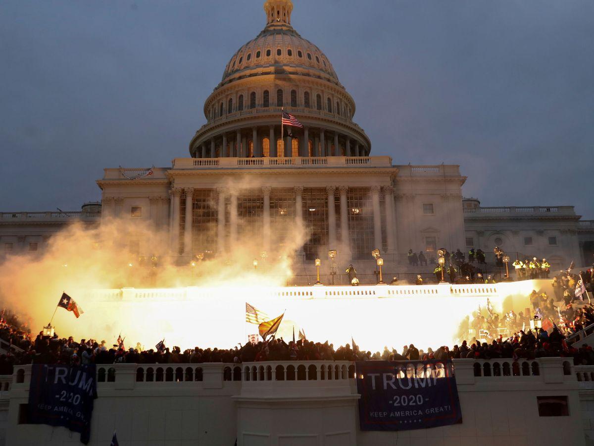Foto: El asalto al Capitolio por seguidores trumpistas, el pasado 6 de enero. (Foto: Reuters)