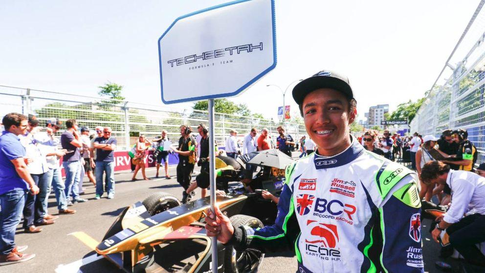 Unos niños harán el trabajo de las azafatas 'paragüeras' en la Fórmula 1