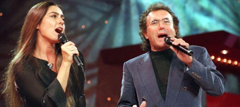 Foto: Romina Power y Al Bano en una imagen de archivo durante una actuación (Gtres)