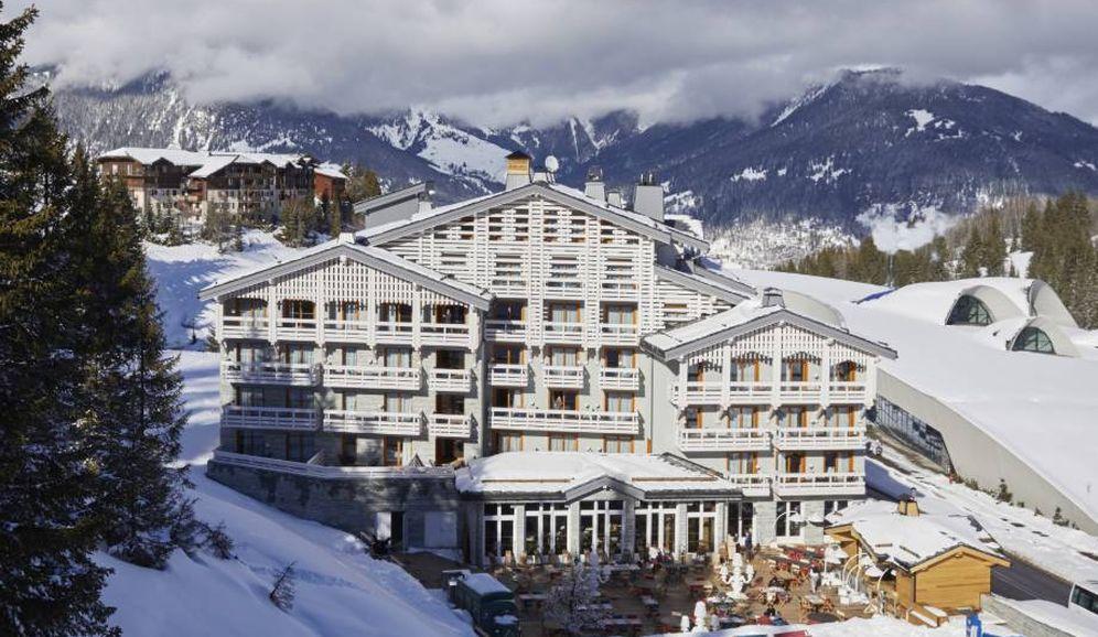 Foto: El resort Écrin Blanc, en el blanco, alpino y lujoso Courchevel. (Cortesía)