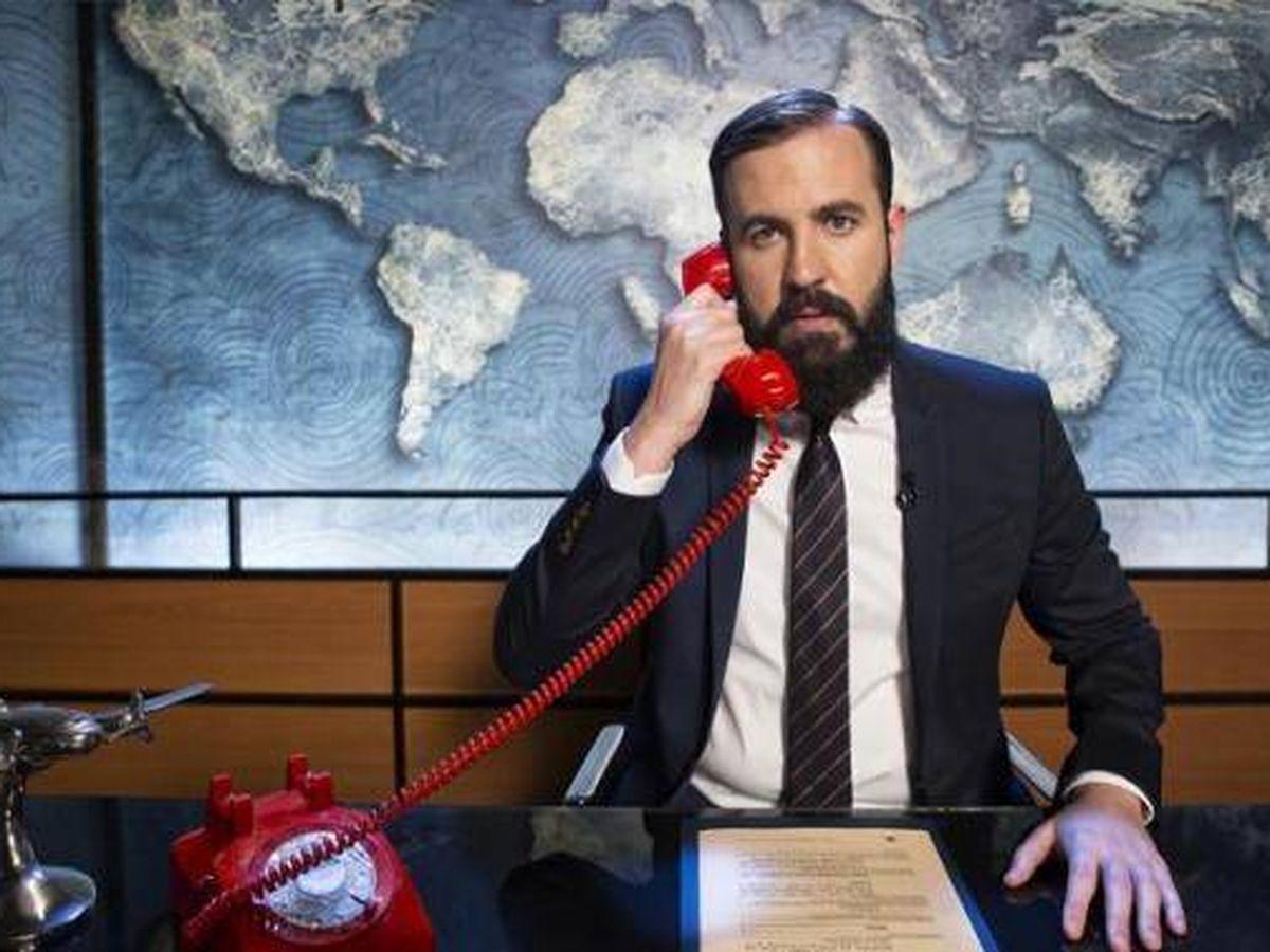 Foto:  Antonio Castelo, en uno de sus programas de humor. (Comedy Central)