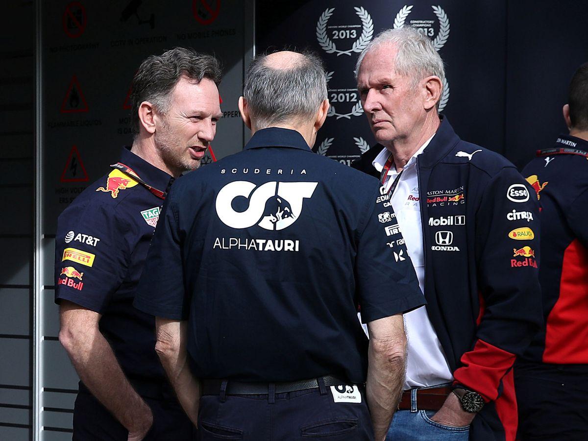 Foto: Red Bull y Alpha Tauri votaron a favor de disputarse el Gran Premio de Australia. (Reuters)
