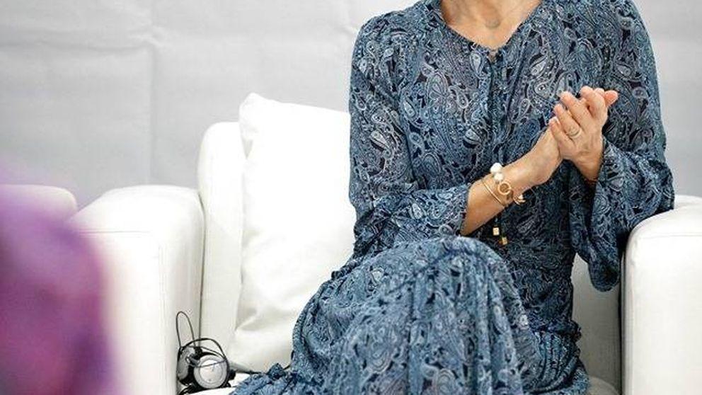 Mary de Dinamarca, sofá, teatro y manta: la versión low cost de su aristocrático salón