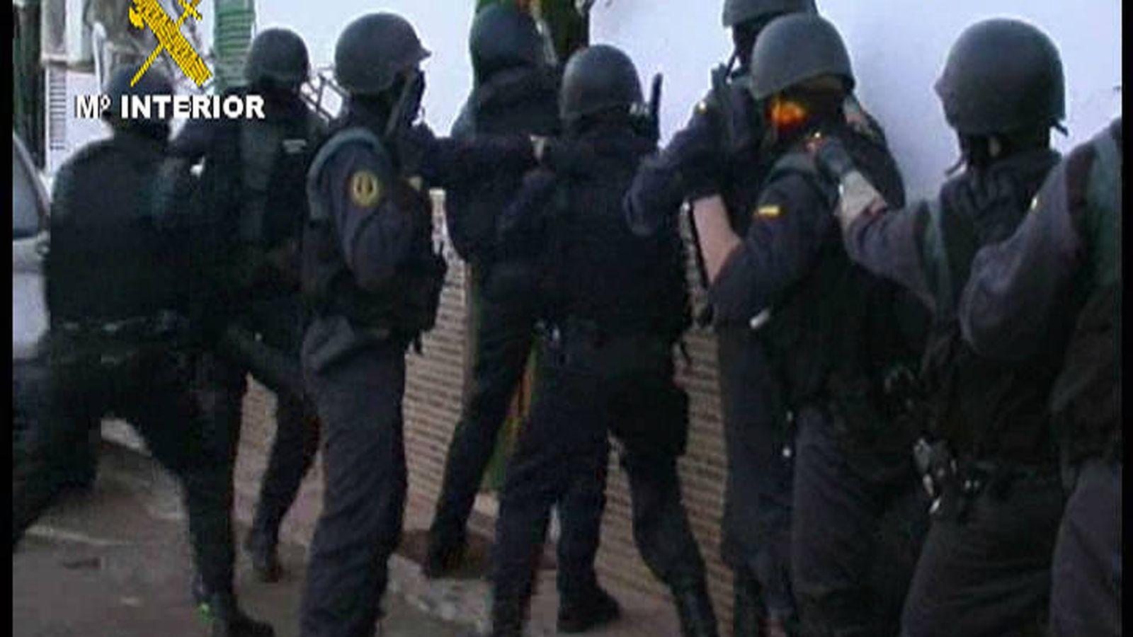 Foto: Operativo de la Guardia Civil (Guardia Civil)