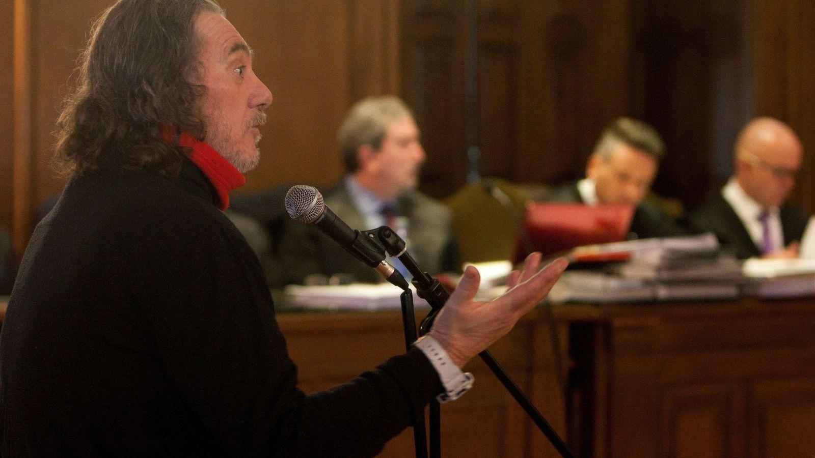 Foto: Sito Miñanco, durante su juicio en la audiencia provincial de Pontevedra (EFE/Salvador Sas)