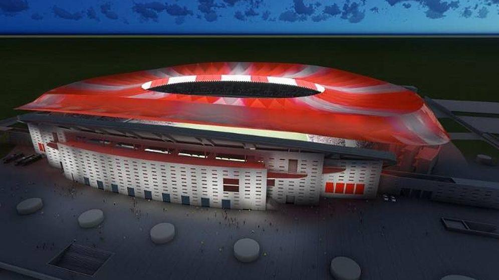 Foto:  El nuevo estadio del Atlético de Madrid se llamará Wanda-Metropolitano (Efe).