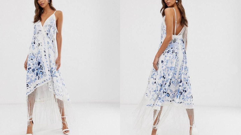 El vestido de Asos de Rocío Osorno.  (Cortesía)