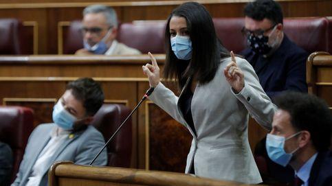 Cs prepara el terreno para romper con Sánchez si elige a ERC en los PGE