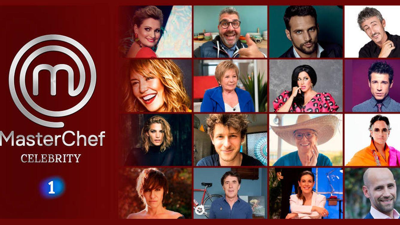 'MasterChef Celebrity 5': lista completa de concursantes de la nueva edición en TVE