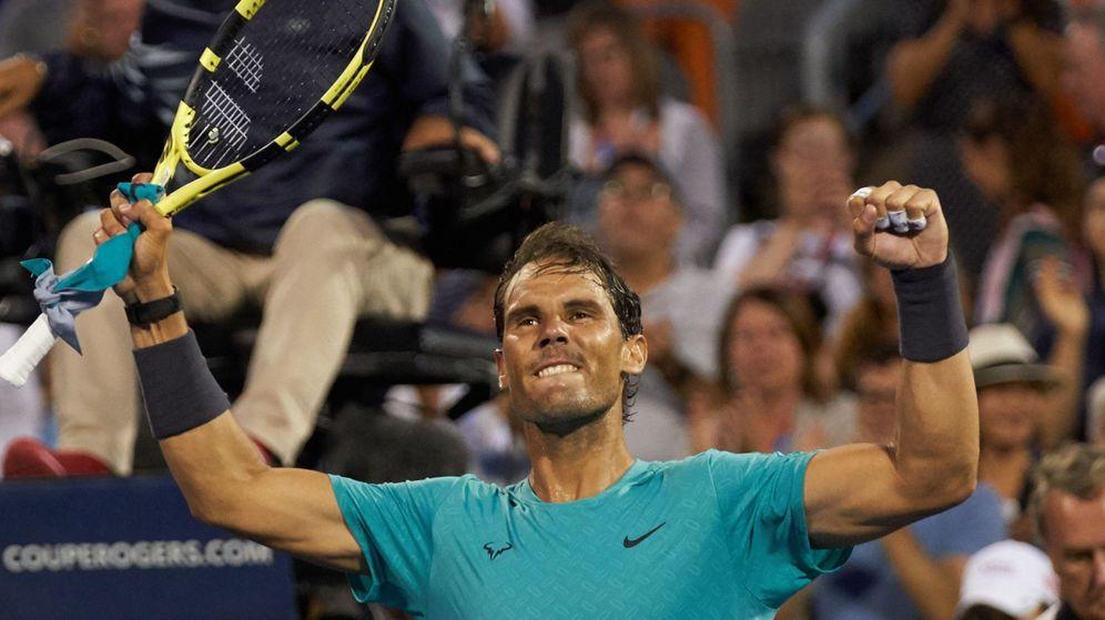 Foto: Nadal celebra su victoria ante Pella. (Reuters)