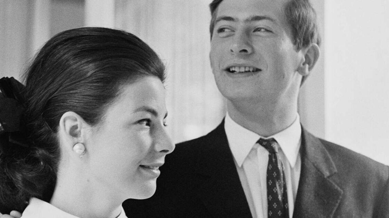 El príncipe Hans y su mujer Marie, en una imagen de 1967. (Getty)