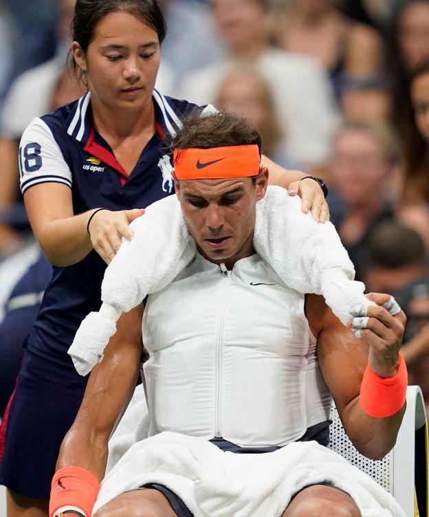 Foto: Rafa Nadal, el 'hombre de hielo' en el US Open. (Reuters)