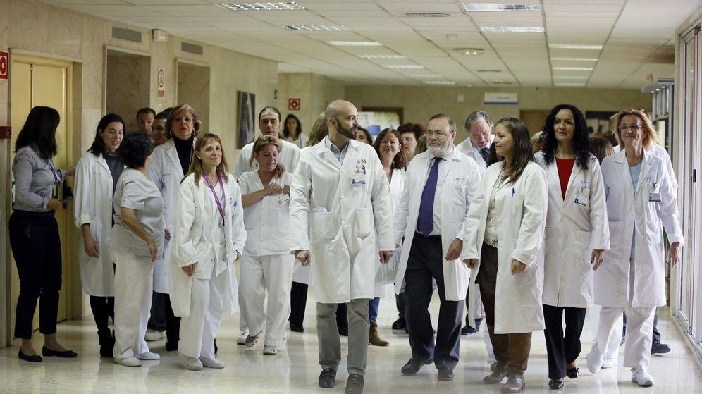 Foto: Médicos del hospital Clínico San Carlos de Madrid.