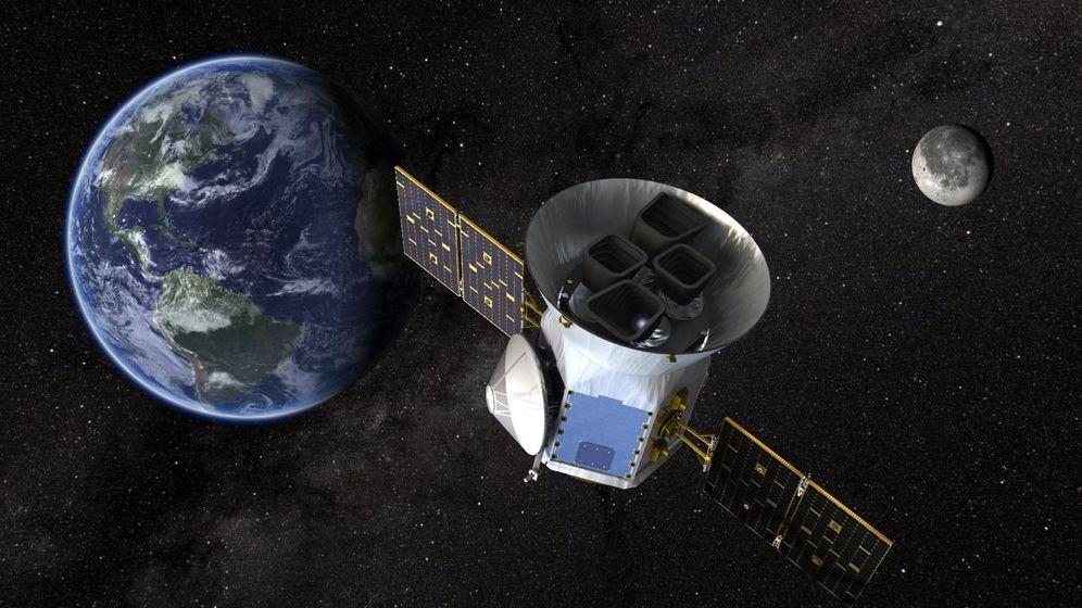 Foto: Tess, el satélite que busca vida en exoplanetas. (EFE)