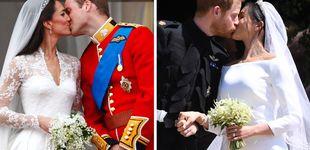 Post de Kate Middleton o Meghan Markle... ¿Con cuál de sus cuatro vestidos de novia te quedas?