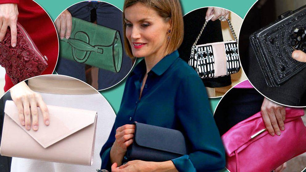 Doña Letizia, una reina con más de 200 bolsos en su armario