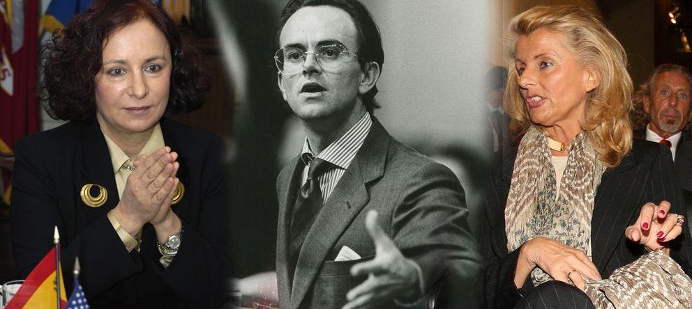 Foto: Ana Palacio, Antonio Hernández Mancha e Isabel Tocino.