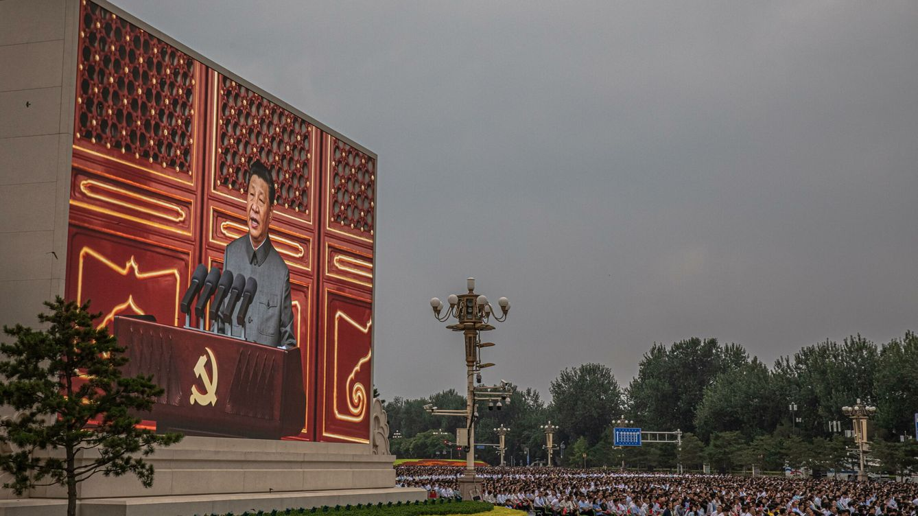 Foto: China celebrates 100th founding anniversary of the chinese communist party