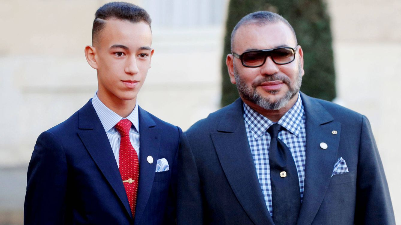 Foto: Mohammed VI y Mulay Hassan. (Reuters)
