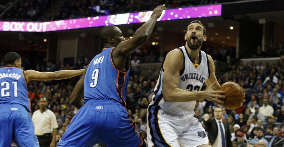 Marc Gasol y unos Grizzlies intratables superan a los Thunder de Kevin Durant