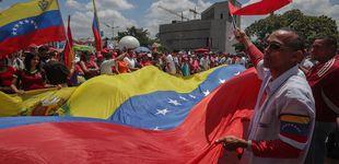 Post de El chavismo tiñe rojas las calles y Guaidó responde con una tímida concentración