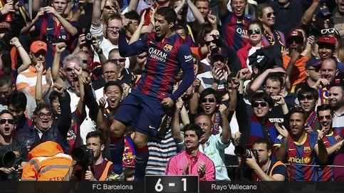 El Barça utiliza la valentía del Rayo como trampolín para colocarse líder