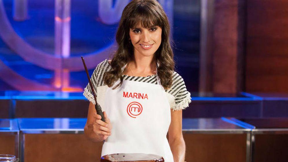 Foto: Marina San José, concursante de 'MasterChef Celebrity 2'. (RTVE)