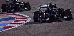 Post de Bottas se lleva la pole en ausencia de Hamilton y Carlos Sainz octavo en Sakhir