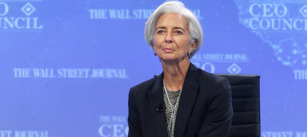 Foto: Christine Lagarde, directora del Fondo Monetario Internacional (FMI) (EFE)