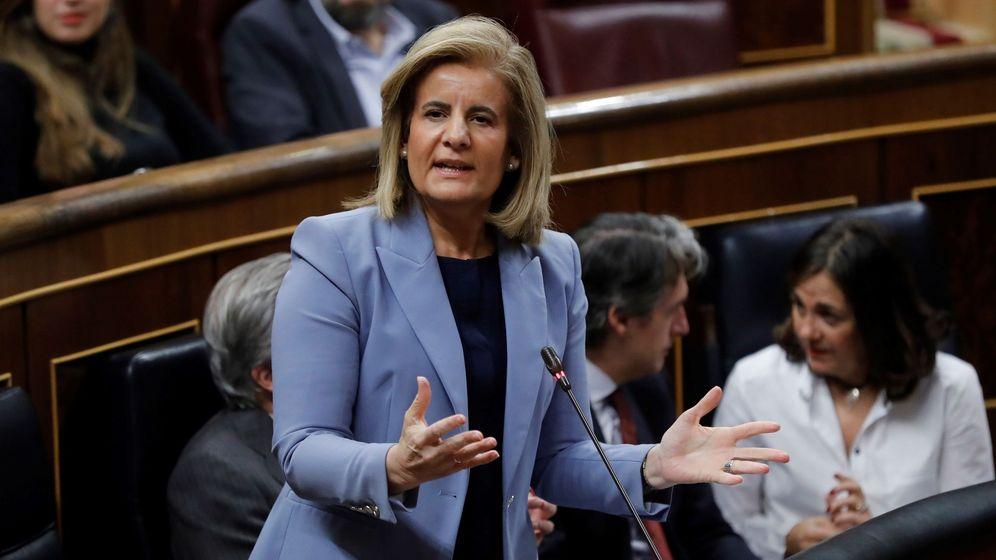 Foto: La actual ministra de Empleo y Seguridad Social, Fátima Báñez. (EFE)