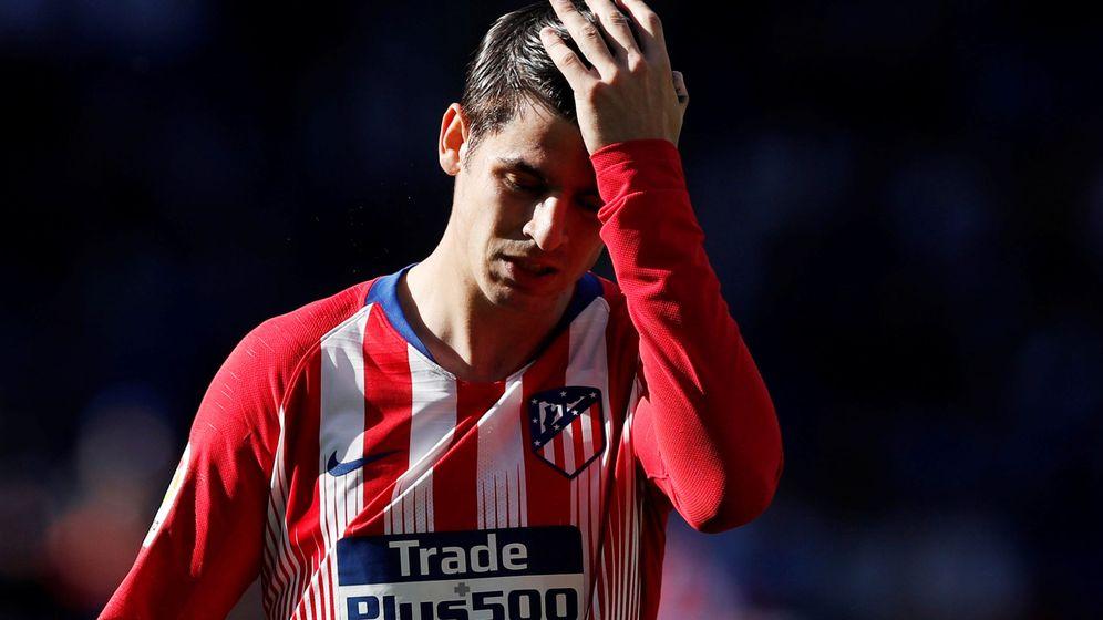 Foto: Álvaro Morata, durante un partido con el Atlético de Madrid en liga. (EFE)
