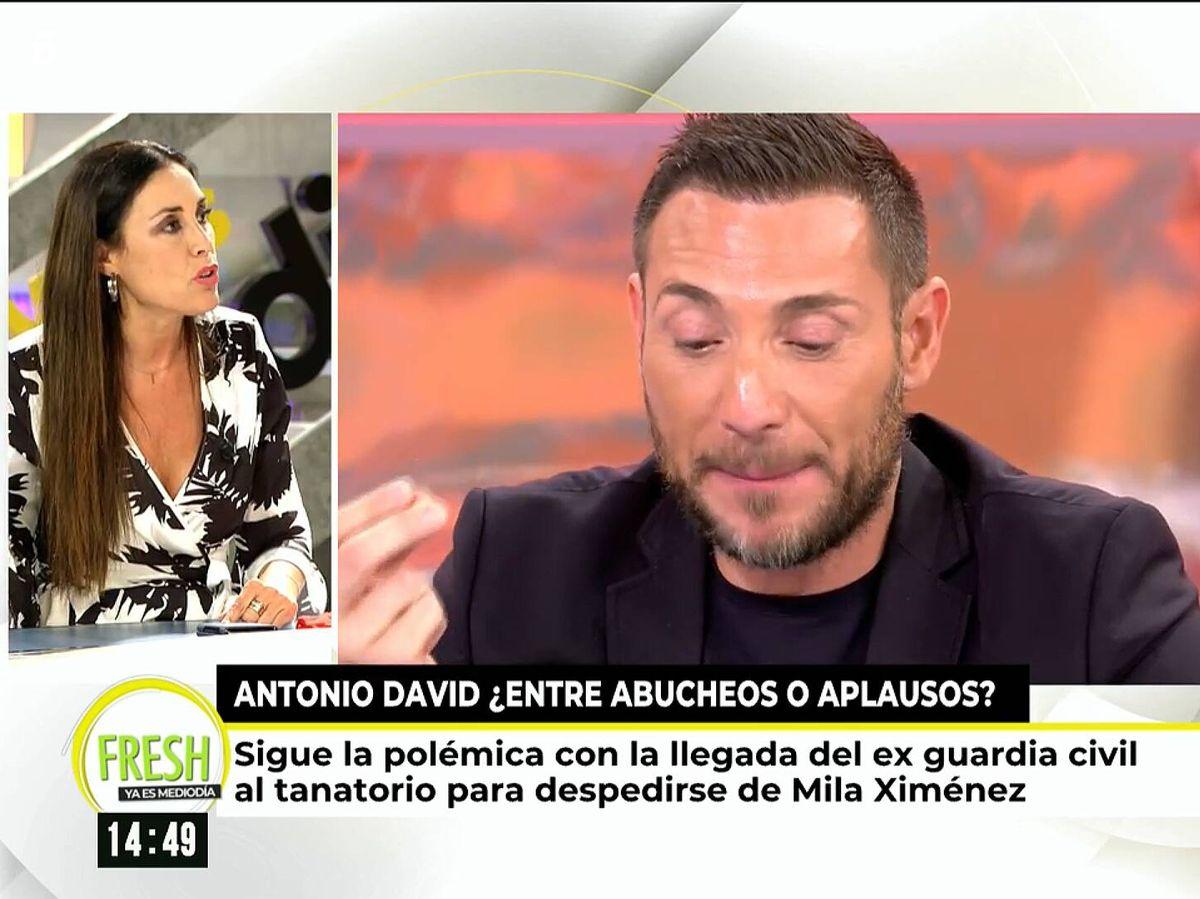 Foto: Isabel Rábago, en 'Ya es mediodía'. (Mediaset)