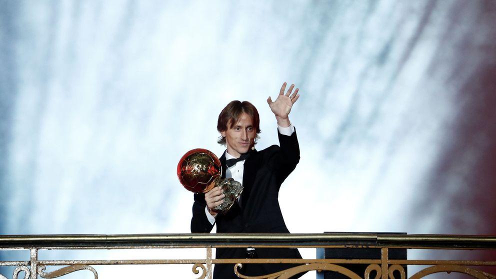 Luka Modric gana el Balón de Oro tras diez años de Cristiano y Messi