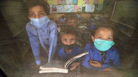Pakistán reabre sus escuelas tras descenso de contagios