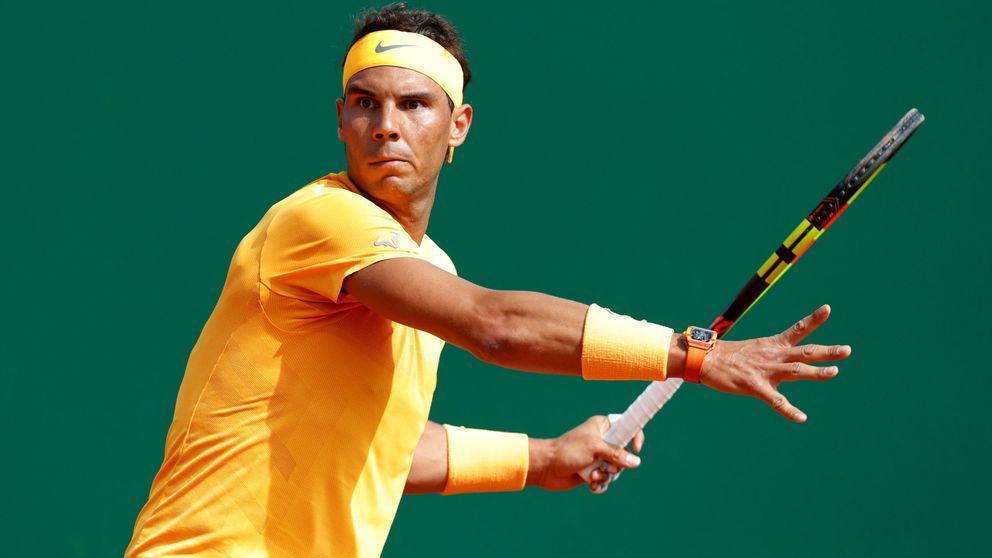 Rafa Nadal pisa fuerte en Montecarlo y no se despeina para ganar a Khachanov
