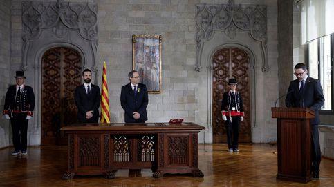 Quim Torra pide diálogo a Mariano Rajoy y respeto para el nuevo Govern