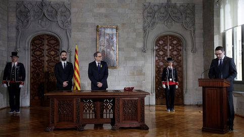 El veto de Torra dinamita el plan de ERC para volver a controlar el dinero de la Generalitat