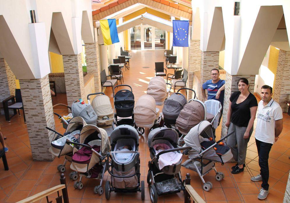 Foto: Algunos llevan una semana y otros dos meses, pero todos temen tener muchas semanas de espera por delante en Ucrania. (Foto cedida)