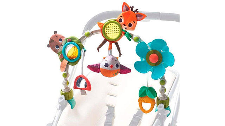 Arco de juegos educativo con sonajero y actividades de Tiny Love