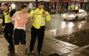 'Drunk tanks', la fórmula británica para acabar con los borrachos